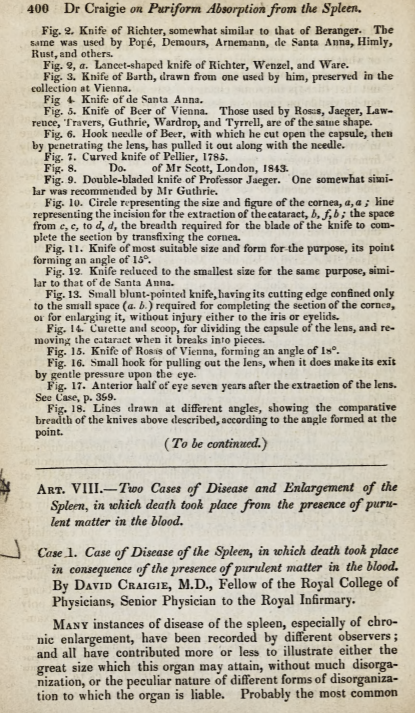 First page of Craigie