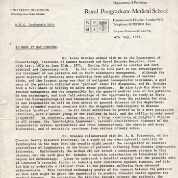 Thumbnail of Brandes Letter of Recommendation