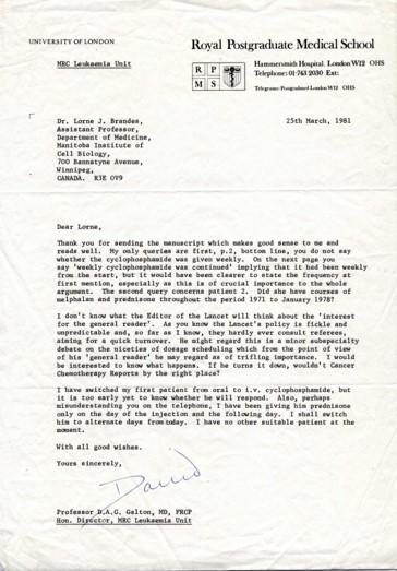 Image of Brandes Paper Review. Transcription below.