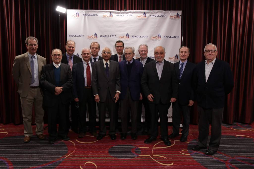 Photo of Rai Binet Medalists at the 2017 iwCLL Conference